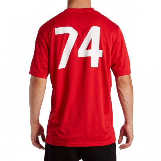 HUF X Chocolate Torrance FC Soccer Jersey - Red