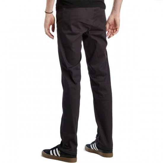HUF Fulton Chino Pants - Charcoal - 30 - 32