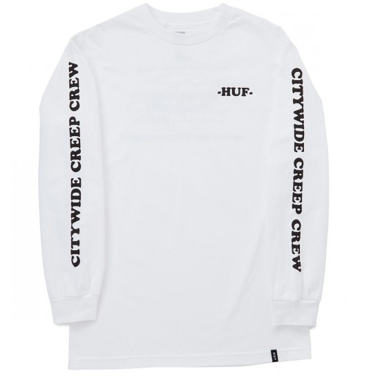 HUF CCC Long Sleeve T-Shirt - White