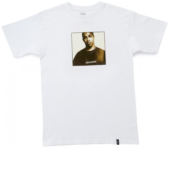 HUF X Chocolate Keenan Portrait T-Shirt - White