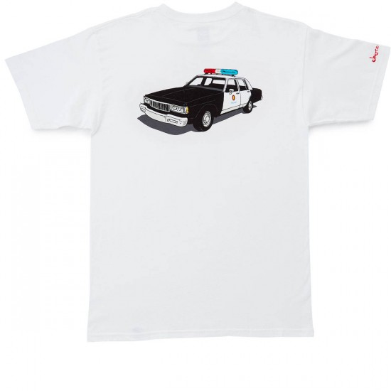 HUF X Chocolate LA Cop Car T-Shirt - White