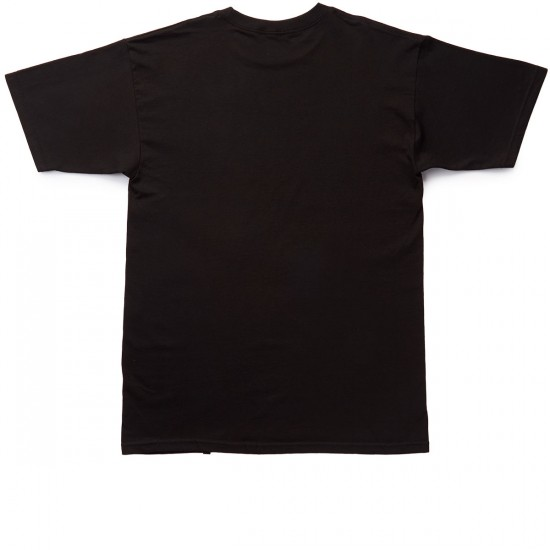 HUF Intersection Box Logo T-Shirt - Black