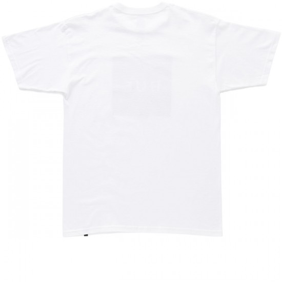 HUF Muted Military Box Logo T-Shirt - White