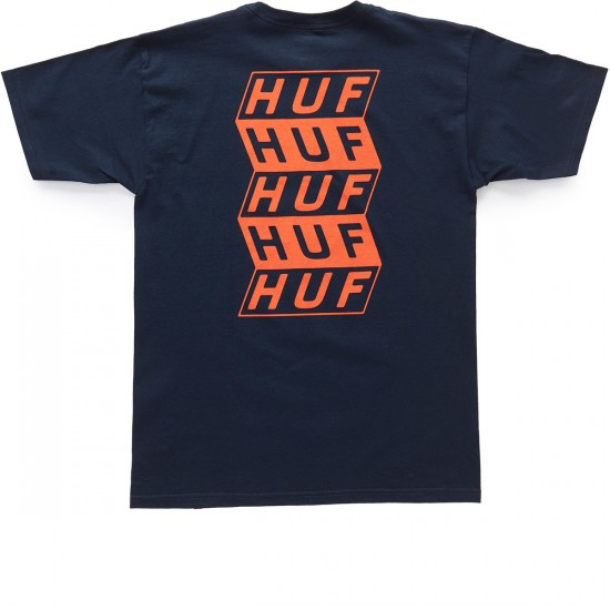 HUF Spacer T-Shirt - Navy