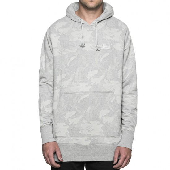 Huf Worldwide Pullover Hoodie - Grey Heather