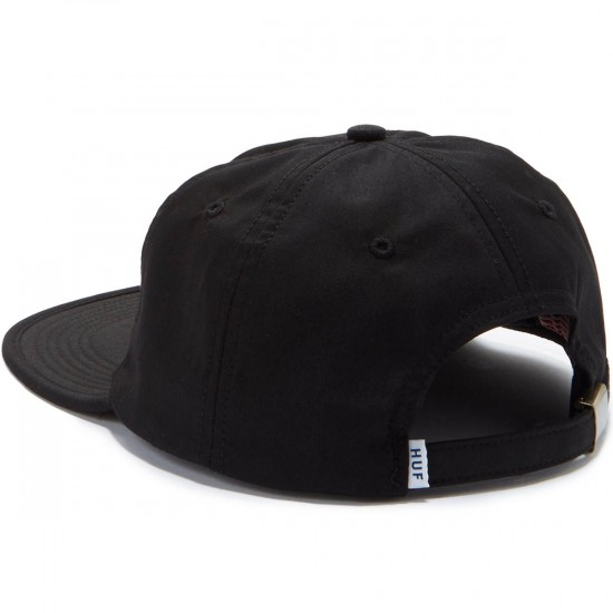 Huf Formless Classic 6 Panel Hat - Black