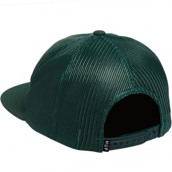 Huf Classic H Trucker Hat - Forest