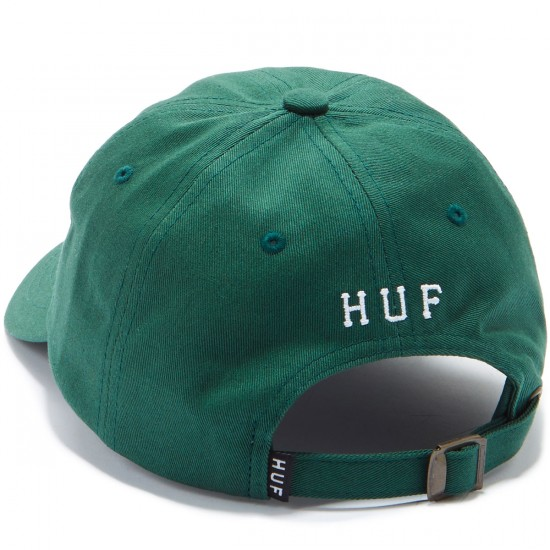 Huf Classic H Curved Hat - Spruce White