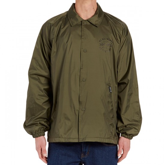 Huf Bundy Coaches Jacket - Olive