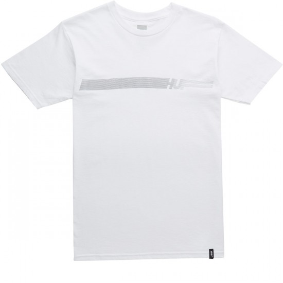 Huf 10K Stripe T-Shirt - White