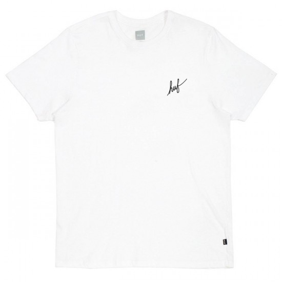 Huf Street Ops Camo Classic H T-Shirt - White