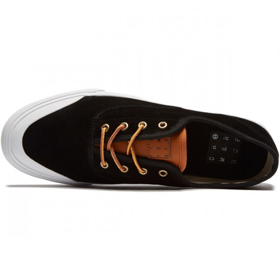 HUF Cromer Shoes - Black/Baseball - 8.0