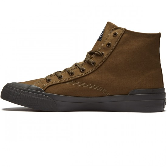 Huf X British Millerain Classic High Shoes - WP Olive - 8.0