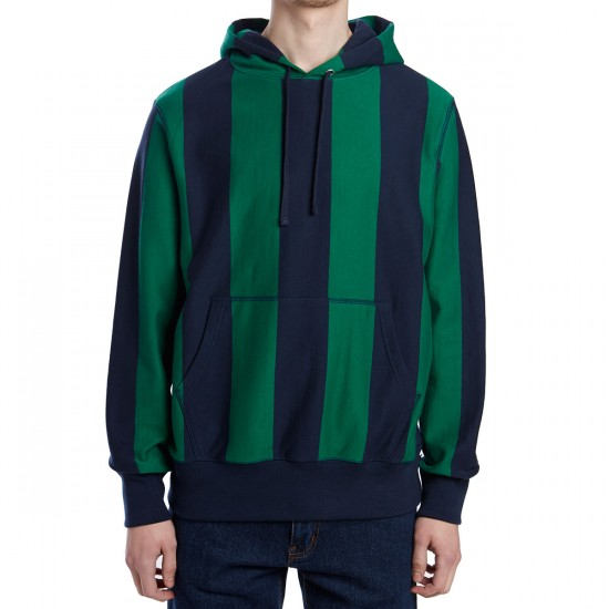 Huf POHM Pullover Hoodie - Navy/Green