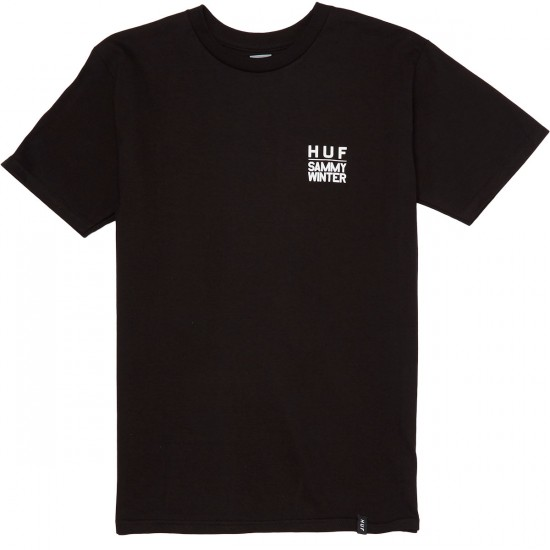 HUF X Sammy Winter T-Shirt - Black