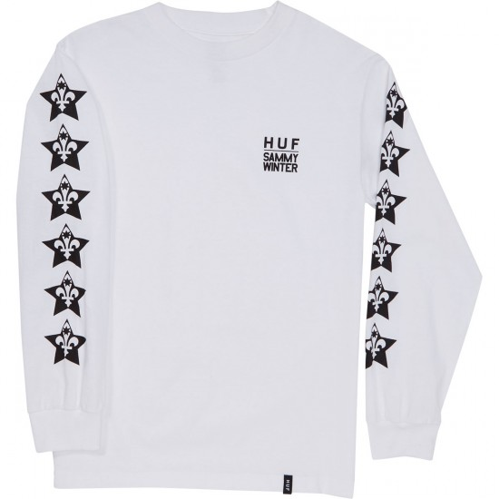HUF X Sammy Winter Long Sleeve T-Shirt - White