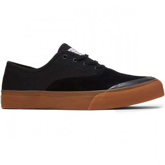 HUF Cromer Shoes - Black/Gum - 8.0