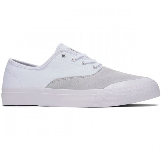 HUF Cromer Shoes - White/Light Grey - 8.0