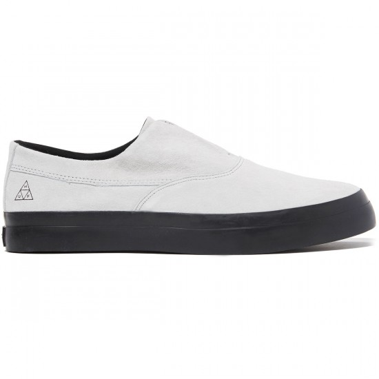 HUF Dylan Slip On Shoes - White/Black - 8.0