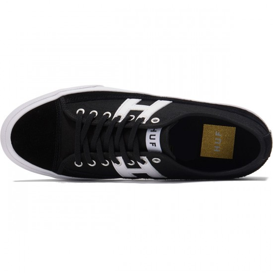 Huf Hupper 2 Lo Shoes - Black/White - 8.0