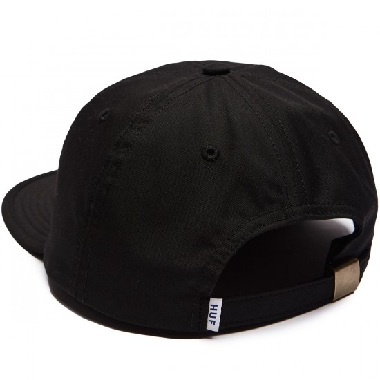 Huf Formless Classic H 6 Panel Hat - Black/Black