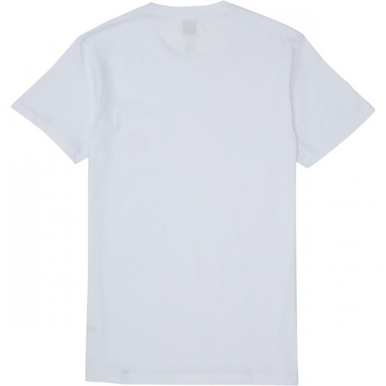 Huf Stage Pocket T-Shirt - White