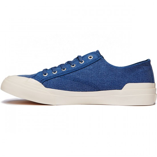 HUF Classic Lo Ess Tx Shoes - Blue Shadow - 8.0