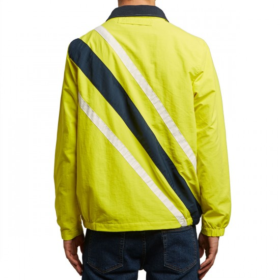 Huf Palisades Track Jacket - Yellow