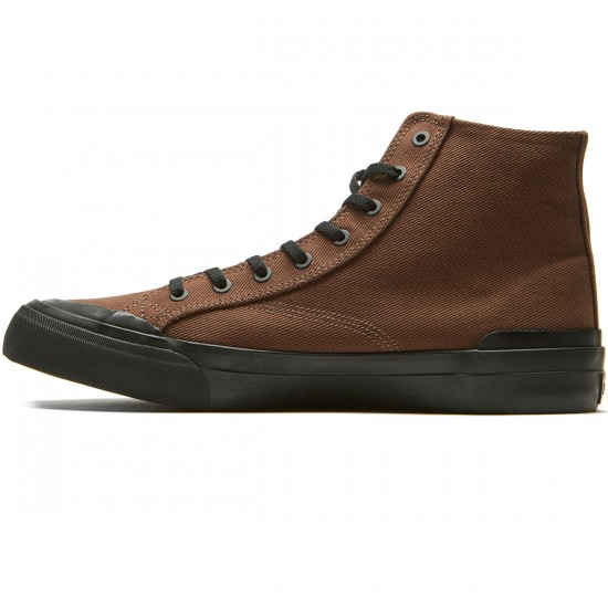 Huf Classic Hi Ess Tx Shoes - Brown/Black - 8.0