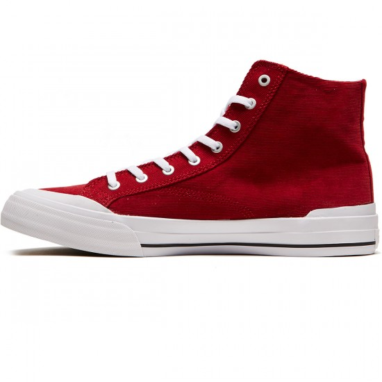 Huf Classic Hi Ess Tx Shoes - Crimson - 8.0
