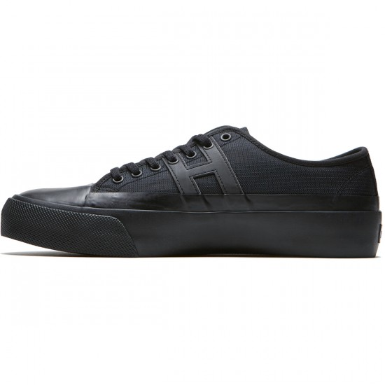 Huf Hupper 2 Lo Shoes - Black/Black - 8.0