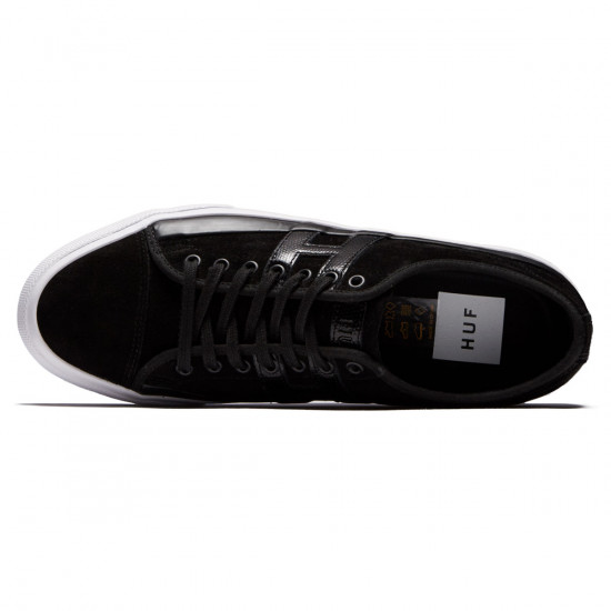 Huf Hupper 2 Lo Shoes - Black/Black/White