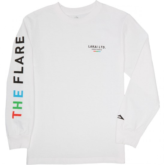 Lakai The Flare Longsleeve T-Shirt - White