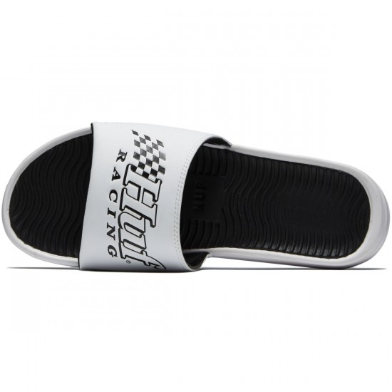 HUF Slide Shoes - White