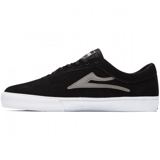 Lakai Sheffield Shoes - Black/Grey Suede - 8.0