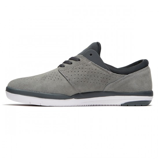 Lakai Fremont Shoes - Grey/Charcoal Suede - 8.5