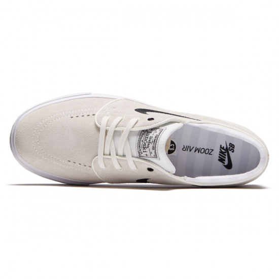 Nike Zoom Stefan Janoski Shoes - Summit White/Black White/Pure Platnium - 6.0