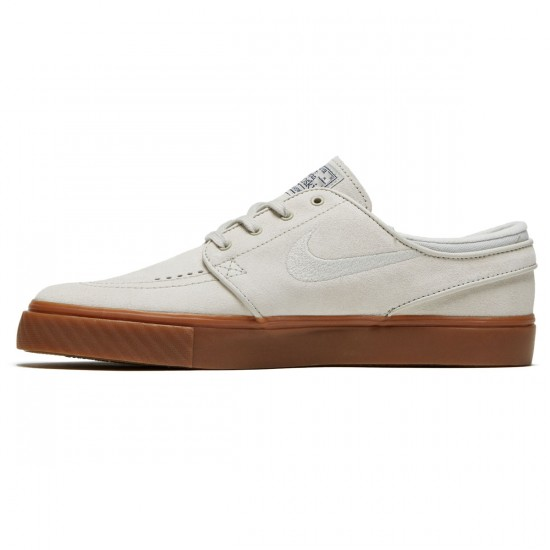 Nike Zoom Stefan Janoski Shoes - Light Bone/Thunder Blue - 6.0