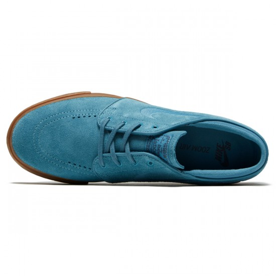 Nike Zoom Stefan Janoski Shoes - Noise Aqua/Thunder Blue - 6.0