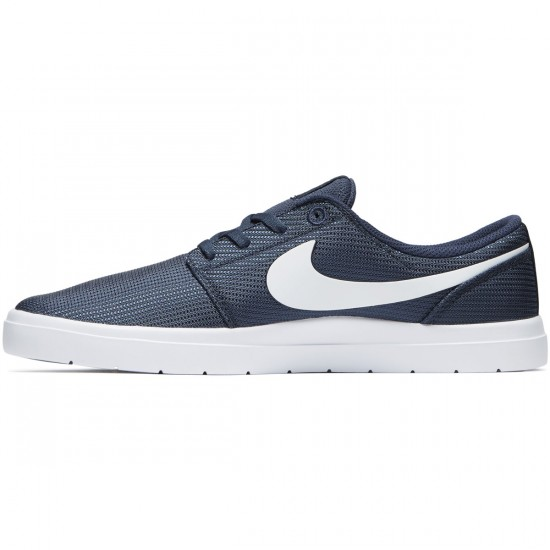 Nike SB Portmore II Ultralight Shoes - Thunder Blue/White/Black - 6.0