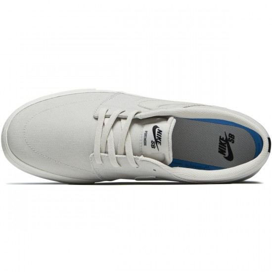 Nike SB Solarsoft Portmore II Shoes - Light Bone/Black/Summit White - 6.0