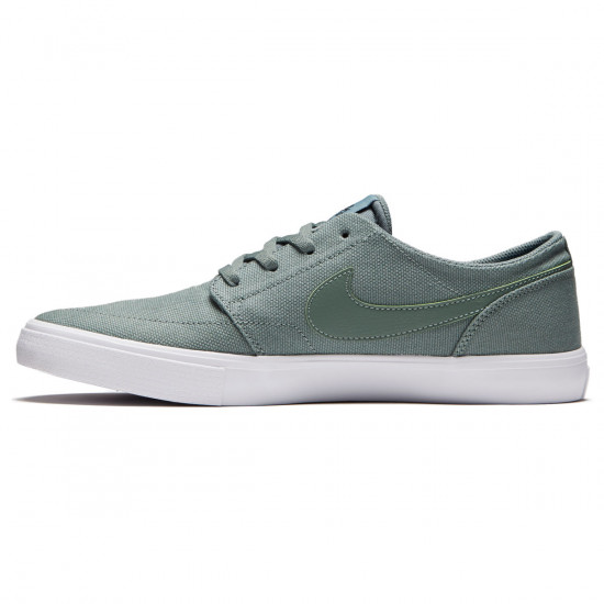 Nike SB Solarsoft Portmore II Shoes - Clay Green/Black - 7.0