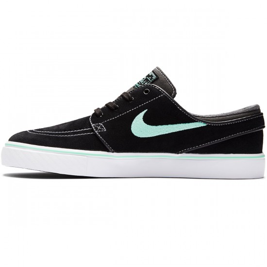 Nike Zoom Stefan Janoski Shoes - Black/Green Glow/Anthracite White - 6.0