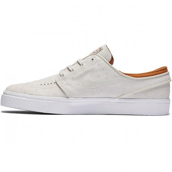 Nike Zoom Stefan Janoski L Shoes - Ivory/Light Bone Hazelnut - 7.0