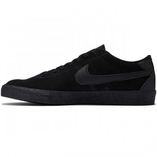 Nike SB Bruin Premium SE Shoes - Black/Black Anthracite/Black - 8.0