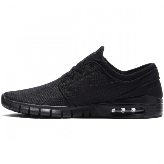 Nike Stefan Janoski Max Shoes - Black/Black Anthracite - 7.0