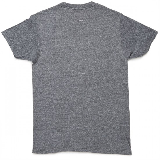 Vissla Foundation T-Shirt - Grey Heather