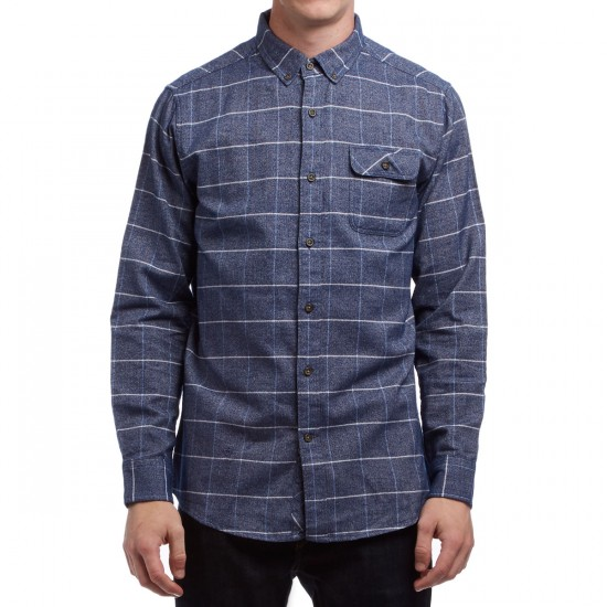 Vissla Carpenteria Shirt - Strong Blue