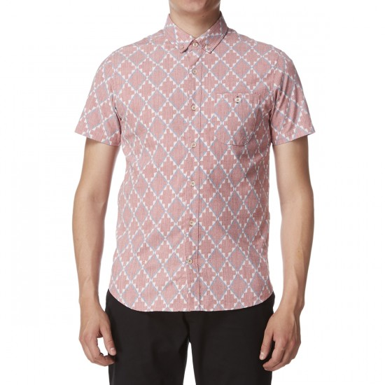 Vissla Destination Unknown Short Sleeve Shirt - Red