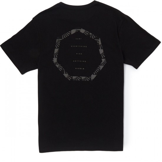 Vissla Day Rays T-Shirt - Black